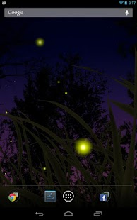 玩個人化App|Fireflies Live Wallpaper免費|APP試玩