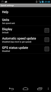 Speed for SmartWatch - screenshot thumbnail