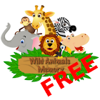 Wild Animals Memory Free icon
