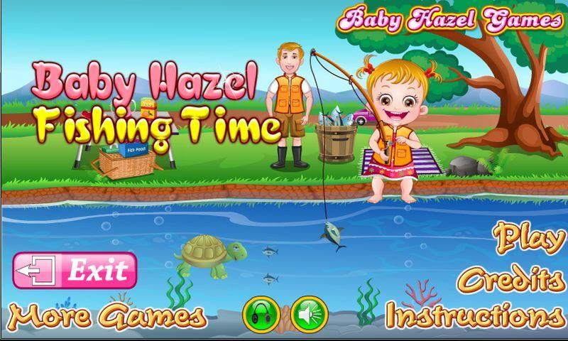 Baby Hazel Fishing Time - screenshot