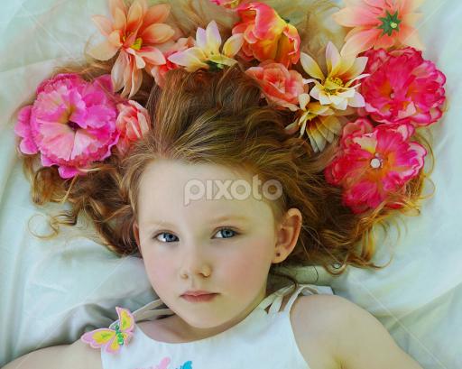 Flower Model | Child Portraits | Babies & Children | Pixoto