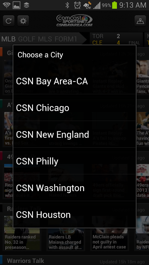 CSN Local Sports (Official) - screenshot