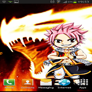 Fairy Tail Chibi Natsu LWP 娛樂 App LOGO-APP試玩