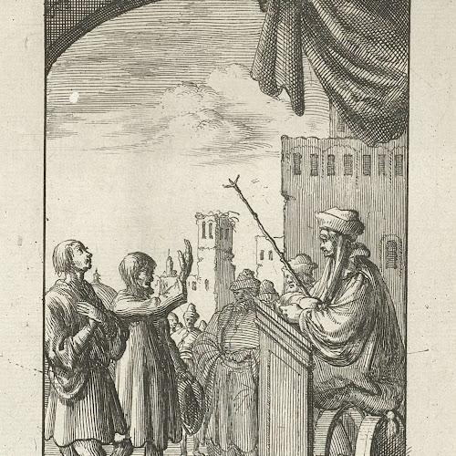 Www Kvetinas Bz Site Info: Man Legt Een Eed Af Voor De Rechter, Jan Luyken, 1685