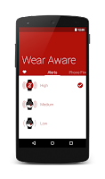 Screenshot of Wear Aware - Phone Finder
