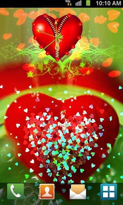 Love Clock Live Wallpaper Apk Download Apkindocoid