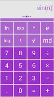 Screenshot of Solo Scientific Calculator