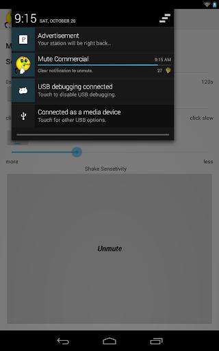 Commercial muting, Ad muter  screenshots 3