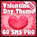 Valentines Heart GO SMS Theme logo