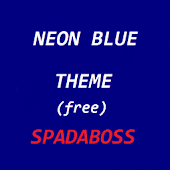 CM10 Theme NeonBlue