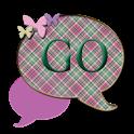 GO SMS THEME/PlaidButterflys4 icon