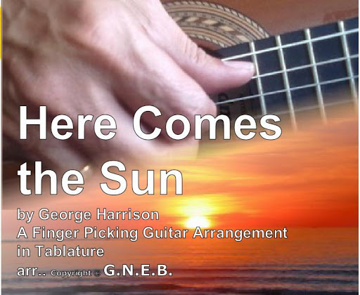 Here Comes the Sun for Guitar