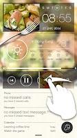 Screenshot of TOP Food GO Locker Theme