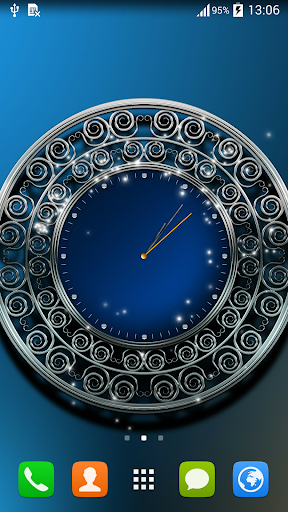 On Time Clock Live Wallpaper