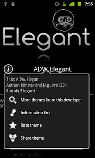 ADW.Elegant Theme - screenshot thumbnail