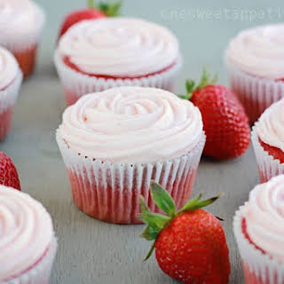 Strawberry Cupcakes With Cake Mix Recipes.