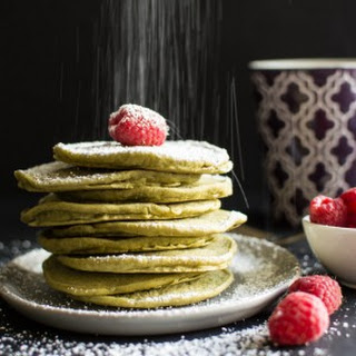 Vegan Green Tea Pancakes