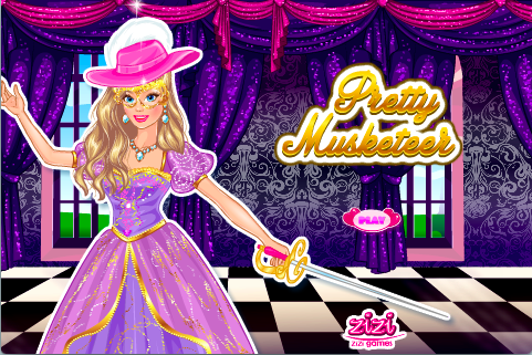 Pretty Musketeer Dress Up