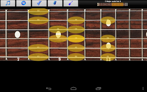 Guitar Scales & Jam Free - screenshot thumbnail