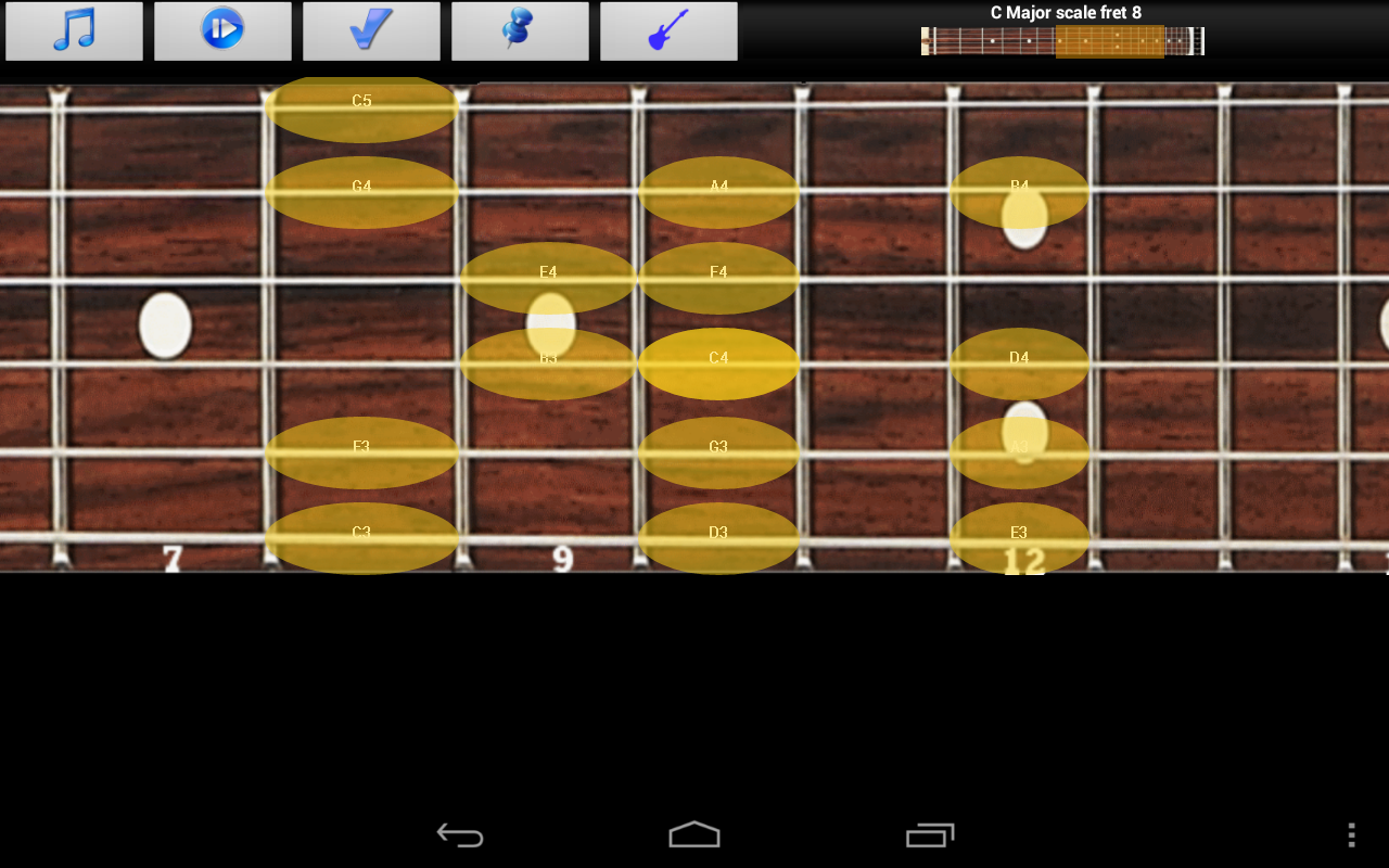 Guitar Scales & Jam Free - screenshot
