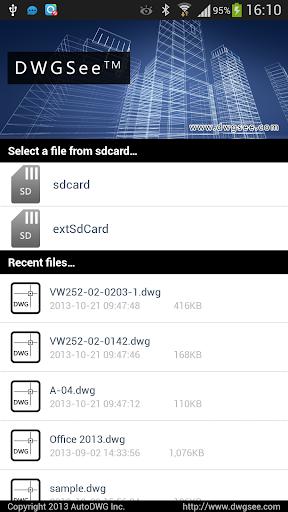 DWGSee -- DWG Viewer screenshot