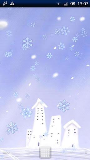 雪動態壁紙