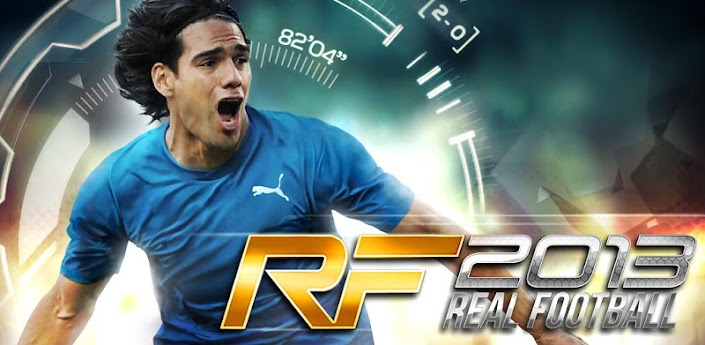 Real Football 2013 v1.0.7 [Money Mod] Apk