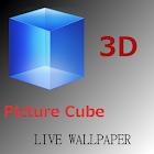 3D Picture Cube Wallpaper Demo icon