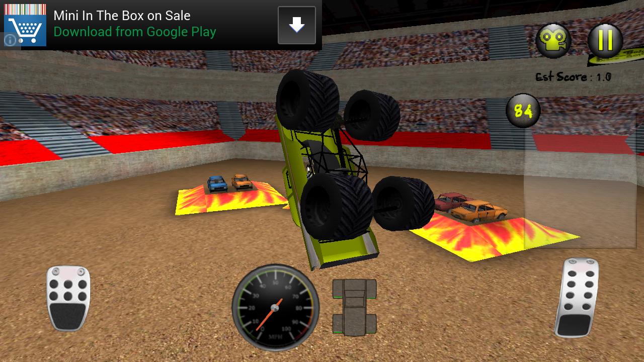 Monster truck mayhem android apps on google play for Truck design app