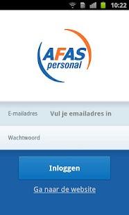 AFAS Personal Huishoudboekje - screenshot thumbnail
