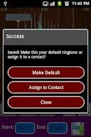 Screenshot of mp3 Ringtone Maker