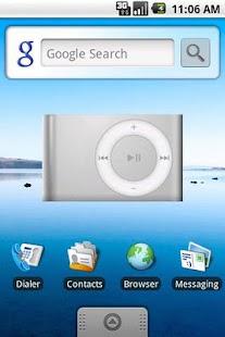 DroidPod Shuffle Silver - screenshot thumbnail