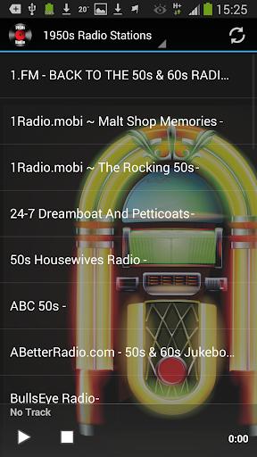 50s Radio Top Fifties Music