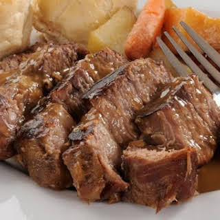 Best Slow Cooker Roast EVER.