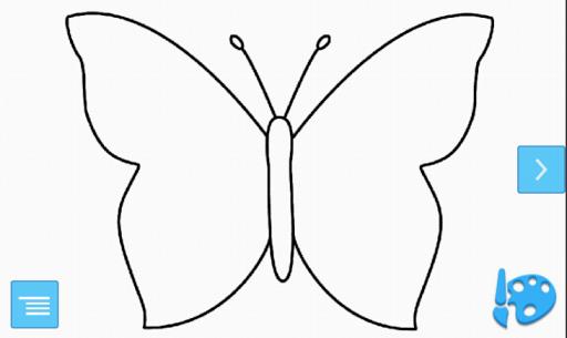 Butterflies Coloring App