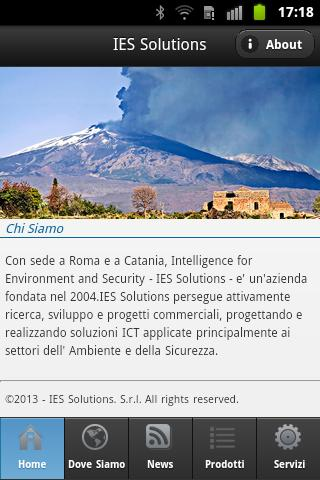 IES Solutions mobile - screenshot