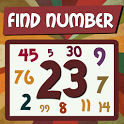 Find number! icon