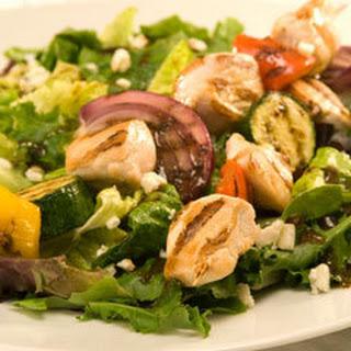 Skewered Italian Salad.