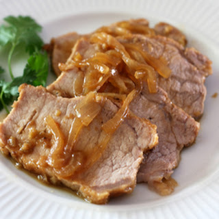 Orange Braised Pork Loin