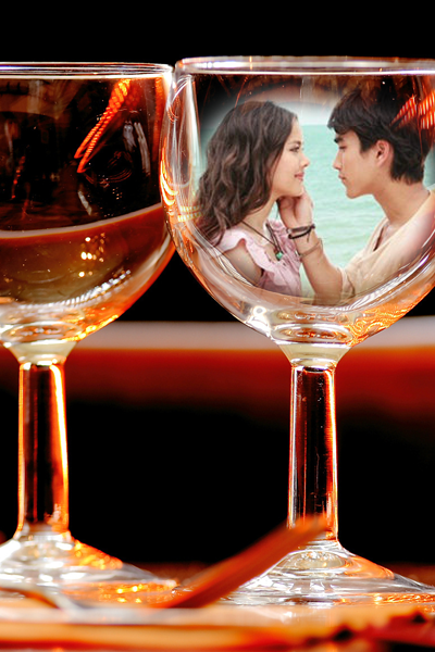 Champagne Glasses Photo Frame : wine glass photo frame HD - Android Apps on Google Play