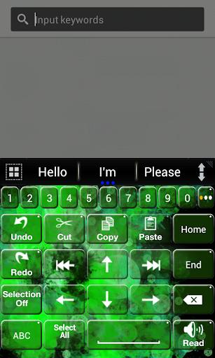A.I.Type主题绿色א|玩個人化App免費|玩APPs