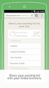 PackPoint Premium packing list v3.9.1-v134