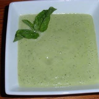 Raw Cucumber Soup (Gluten and Dairy-Free).