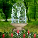3D Fountain icon