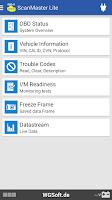 Screenshot of ScanMaster Lite
