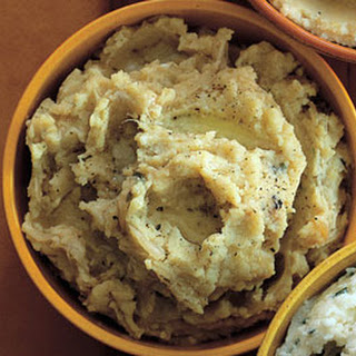 Caramelized-Shallot and Sage Mashed Potatoes
