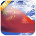 3D China Flag Live Wallpaper icon