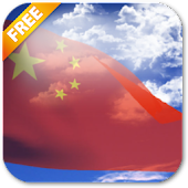 3D China Flag Live Wallpaper