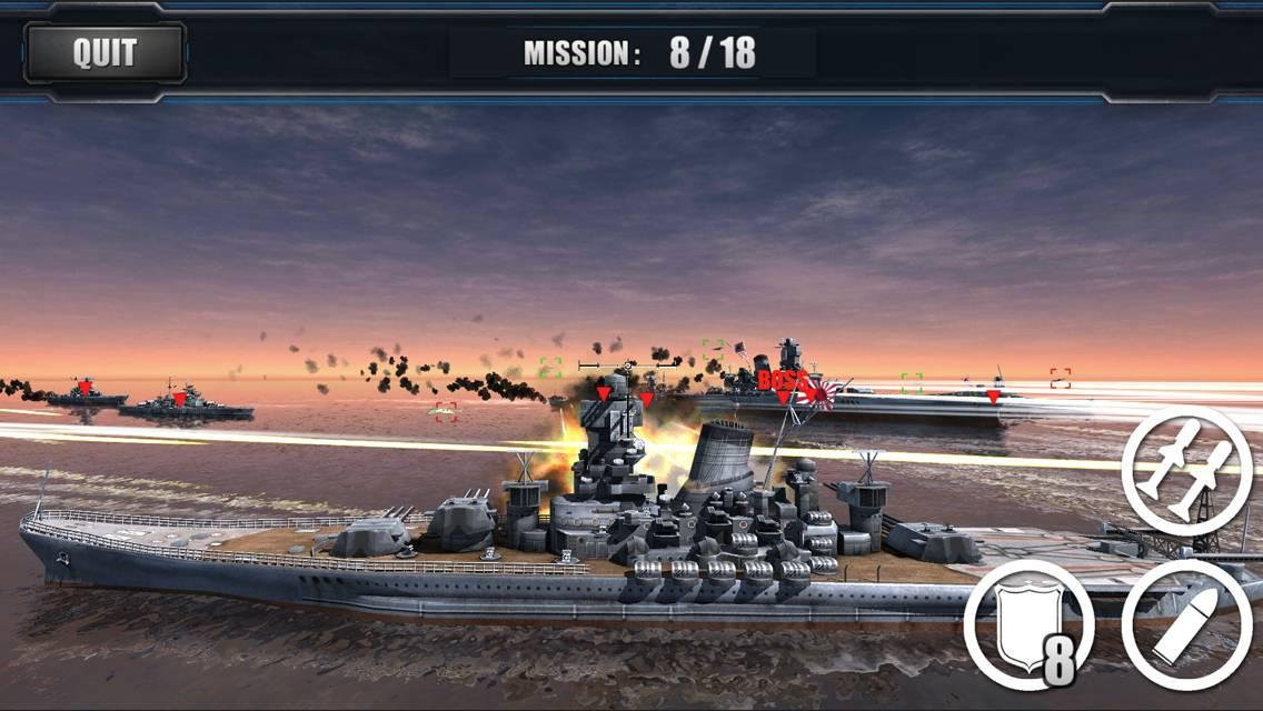 Screenshots of World Warships Combat for iPhone