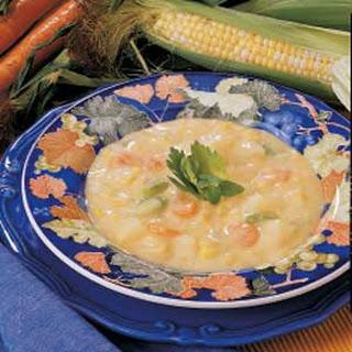 Microwave Corn Chowder